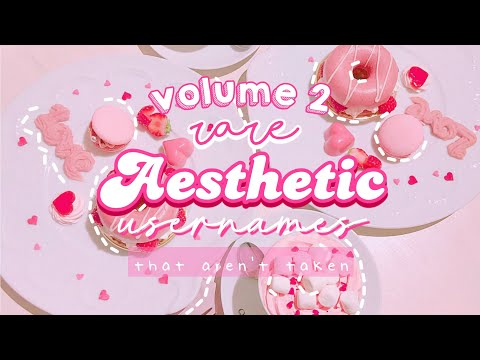 ★ 100 aesthetic usernames ★ Pt-2// (roblox, gacha, ig, etc) from YouTube · Duration:  3 minutes 13 seconds