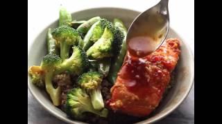 Sweet Chili Salmon and Broccoli Quinoa Bowls