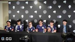 Full press conference with Team Liquid after 2019 MSI finals