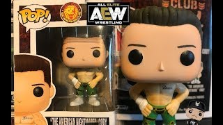 CODY RHODES FUNKO POP AMERICAN NIGHTMARE AEW REVIEW + THOUGHTS ON ALL ELITE WRESTLING & WWE