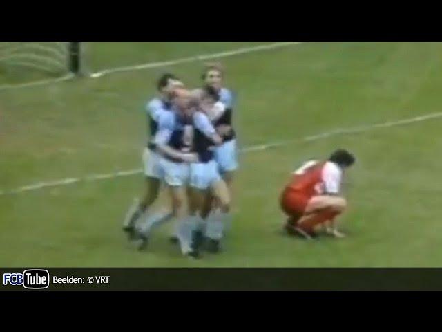 1986-1987 - Jupiler Pro League - 01. Club Brugge – SV Waregem 8-0