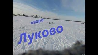 Рыбалка на озере в деревне Луково