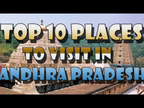 top 10 places to visit in  andhra pradesh 2016
