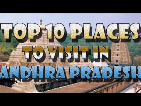 top 10 places to visit in  andhra pradesh 2016