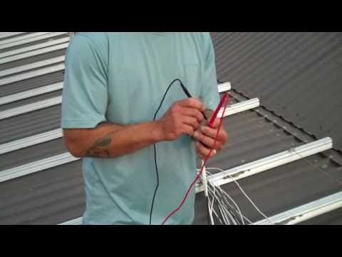How to commission a solar PV system
