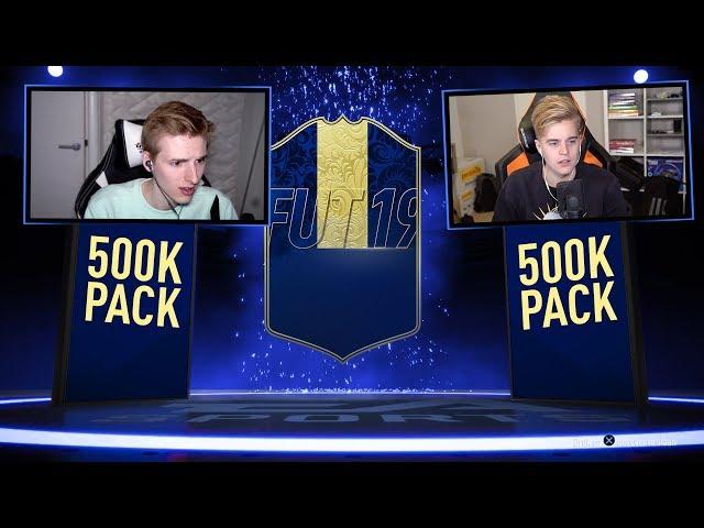 IK OPEN EEN 500K PACK! - TOTY PACK BATTLE TEGEN MATTHY