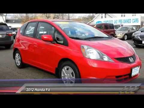 2012 Honda Fit Madison NJ 37952A