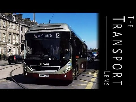 Lothian Buses in Edinburgh, May 2017 - Part 2