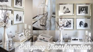 Entryway Makeover Collaboration| Updated Entryway Tour | Neutral Home