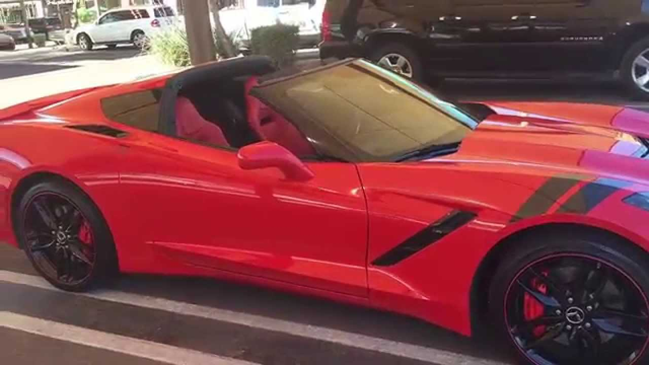2014 torch red corvette stingray z51 for sale youtube. Cars Review. Best American Auto & Cars Review