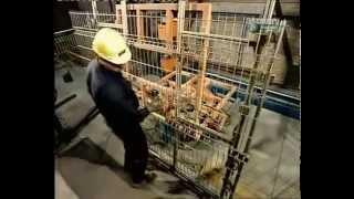 Производство заборов из сварной сетки.(Как производят панели из сварной сетки для ограждений. http://zazaborom.com.ua/ - все об сетчатых ограждениях., 2015-01-11T21:18:41.000Z)