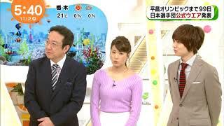 画像 永島優美アナの乳房のふくらみけしからんぞ.