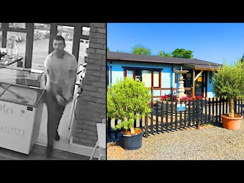 The Woody Show - Cafe Owner Scares Off Burglar From 4,000 Miles Away: 'I Can See You'