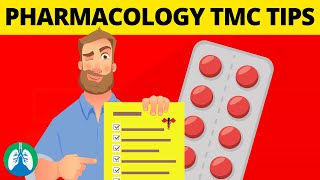 13 Must-Know Pharmacology Tips for the TMC Exam 😱