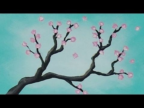 Easy Tree Painting On Canvas