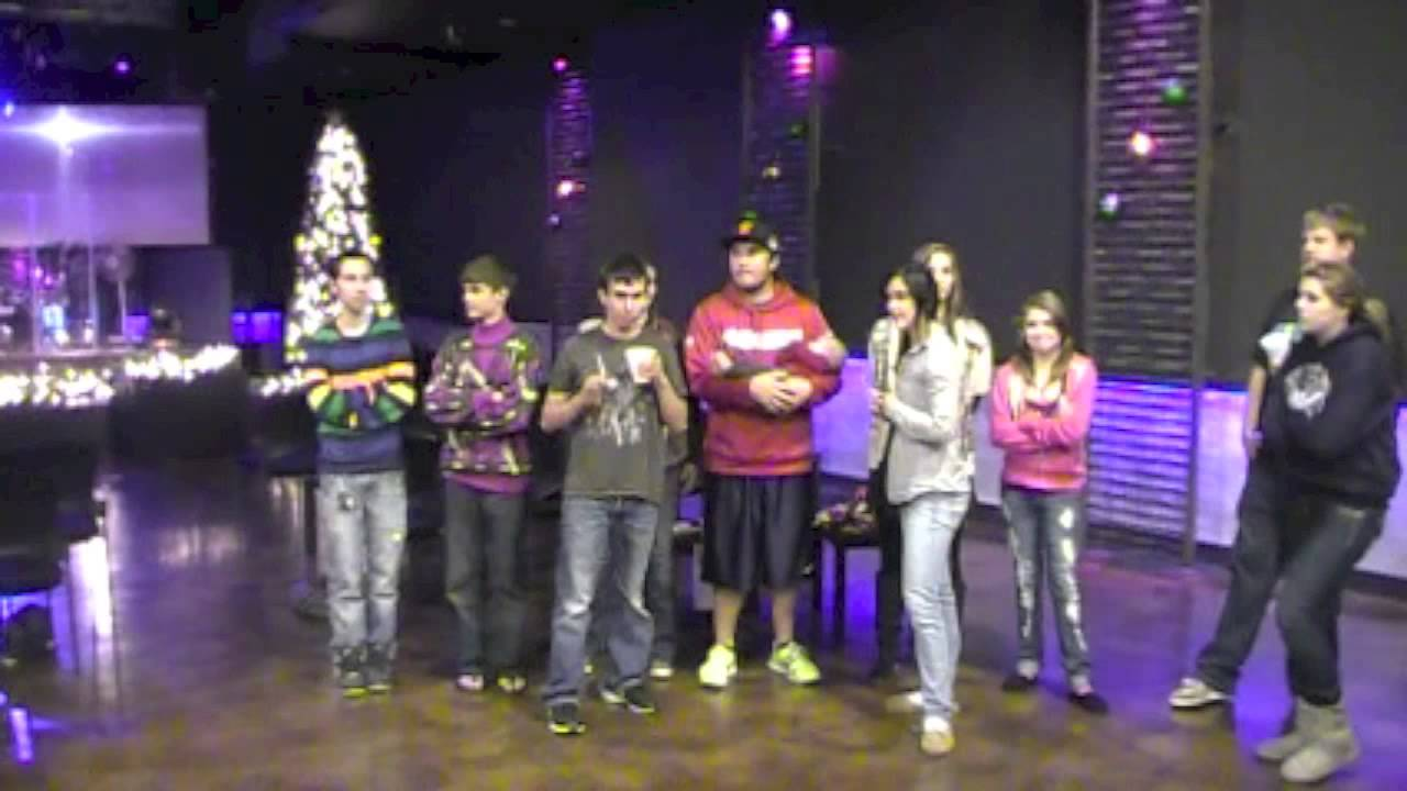 Youth Group Christmas Party - YouTube
