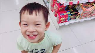 Minh Hà dẫn soái ca đi siêu thị | Gia đình Lý Hải Minh Hà