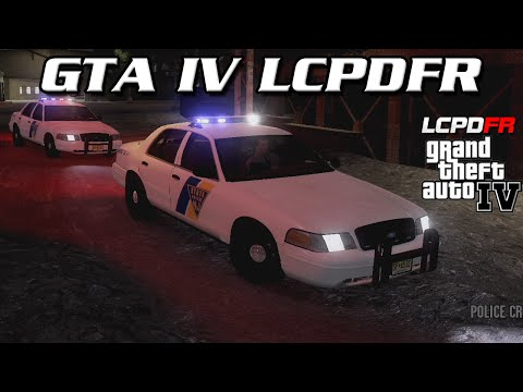 GTA IV LCPDFR MP - New Jersey State Police
