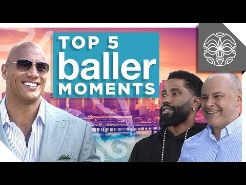 """The Rock's Favorite Moments from HBO's """"Ballers"""""""