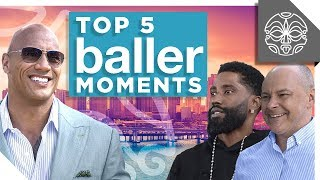 The Rocks Favorite Moments from HBOs Ballers