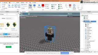 How to make your own hat   ROBLOX Tutorial