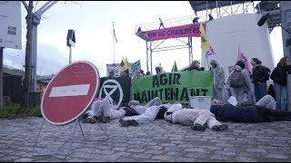 Extinction Rebellion bloque une usine de ciment Lafarge (17 février 2020, Paris) [4K]