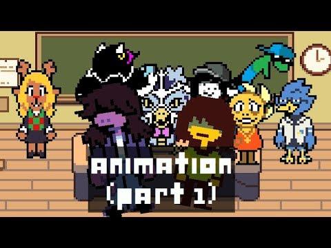 Susie Makes Friends - Part 1 (Deltarune Animation)