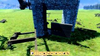 Medieval Engineers - Ballista, Catapult And Trap Designs 1