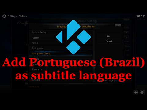 Add Portuguese (Brazil) as subtitle language in Kodi version 15.2