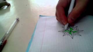 Как рисовать Армейскую звезду(Видео урок., 2013-02-28T14:48:25.000Z)