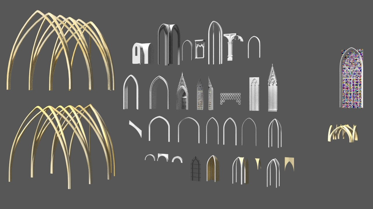 gothic architecture elements - 1280×720