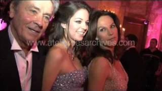 Alain Delon Bruce Willis Demi Moore et leurs filles