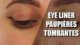 Comment faire un trait d'eyeliner sur paupière tombante (la bonne méthode)Colashood2