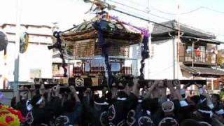 下総三山の七年祭 萱田町時平神社の神輿