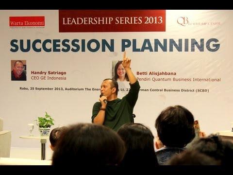 Handry Satriago: Succession Planning