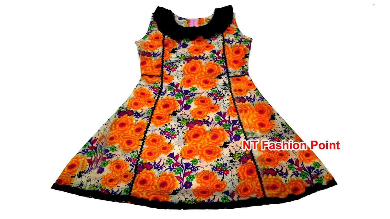 Kids Cotton Kolli Cut Designs Baby Dresses Cutting And