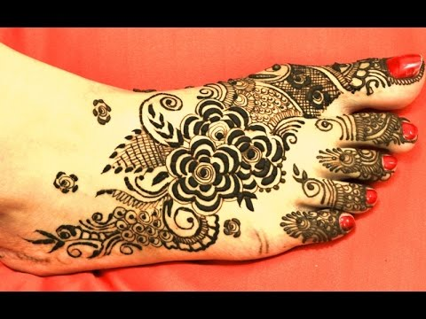 Beautiful Simple Gulf Mehndi Designs For Legs Arabic Henna By