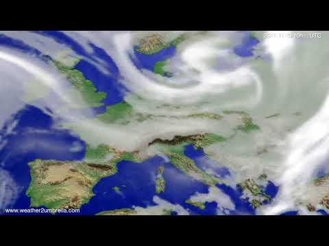 Cloud forecast Europe 2017-11-17