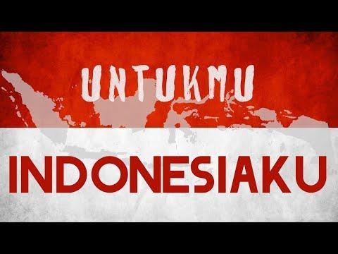 UNTUKMU INDONESIAKU - SHANNA SHANNON [ Lyrics Video ]