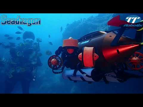 👽CES 2018 SeaDragon ROV Underwater drone dives near Liuqiu - TTRobotix Thunder Tiger Robotix 雷虎科技