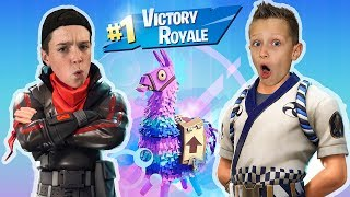 VICTORY ROYALE WITH RONALD OMG!!