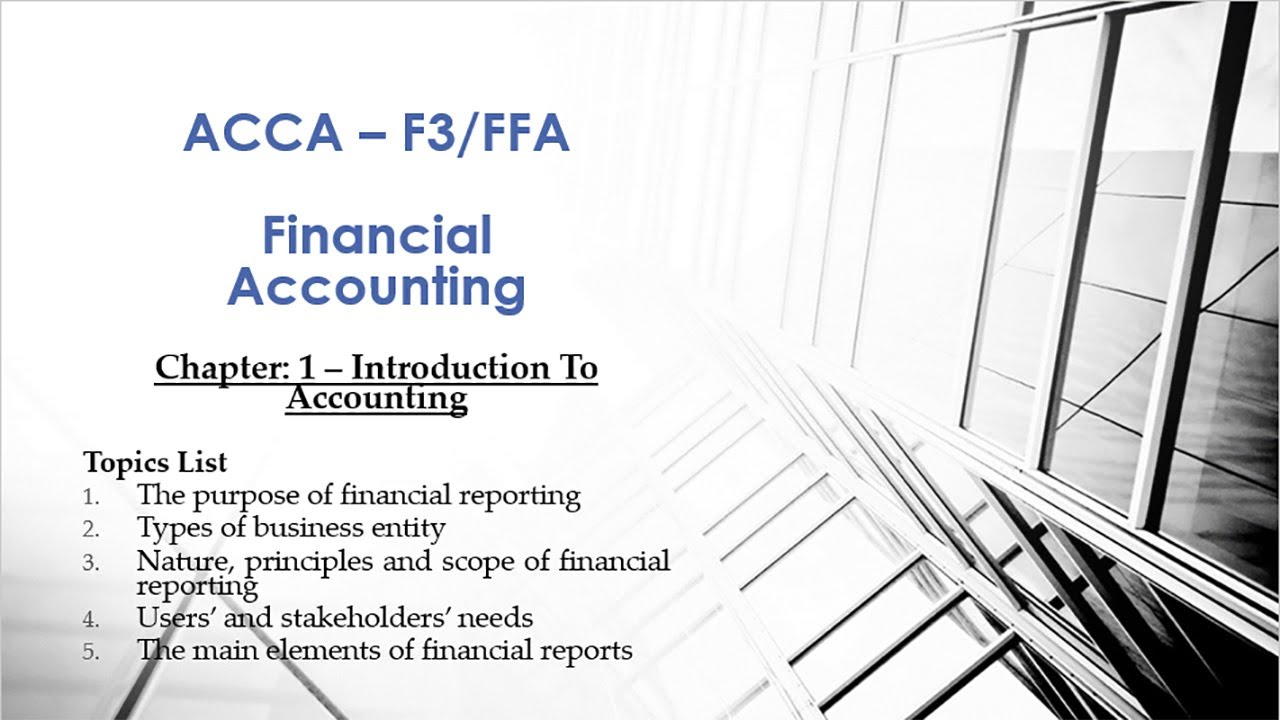 financial accounting chapter 1 Financial accounting textbook solutions and answers from chegg get help now.