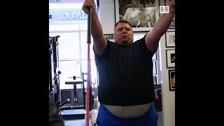 """Former NFL QB Jared Lorenzen Is Losing Weight and His Nickname """"The Hefty Lefty"""""""