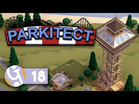 🎡 Defeating The Island! | Let's Play Parkitect Ep. 18