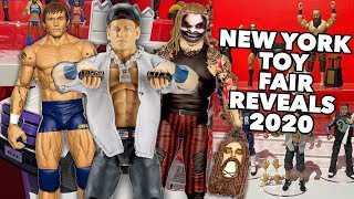 NEW YORK TOY FAIR REVEALS NEW WWE ACTION FIGURES! DAY 1 2020!