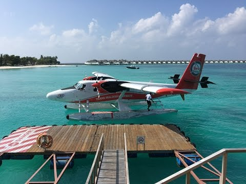 Leaving the Maldives - The Sea Plane cannot land / Maldives Travel Vlog #53 / The Way We Saw It