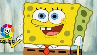 La Liga Portrayed By Spongebob