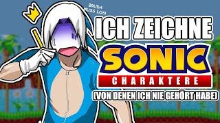 Ich zeichne Sonic Charaktere, die ich nicht kenne | Drawinglikeasir