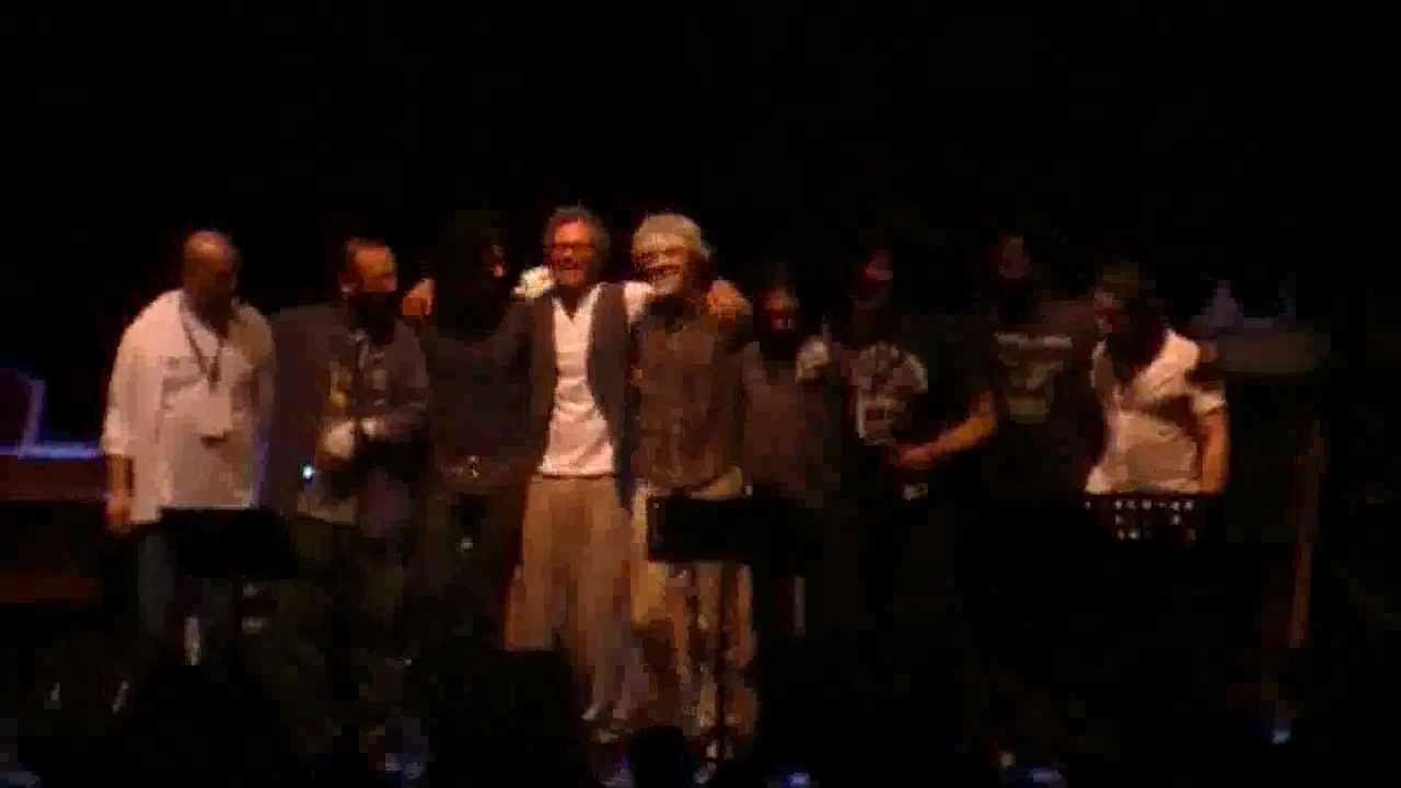 Stewart Copeland  Niccol Fabi  Max Gazz DOES EVERYONE STARE  Casa del Jazz ROMA 246