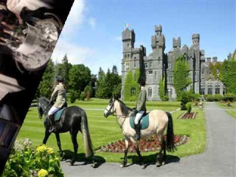 Só Óstáin rómánsúil      Ashford Castle Hotel & Gairdíní  pictiúir Conga       Éire